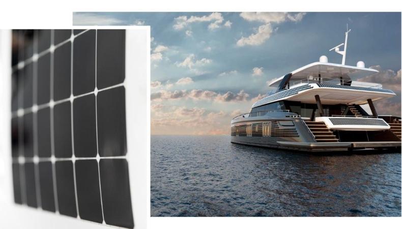 Pierwsze zdjęcia nowego systemu paneli słonecznych Sunreef Yachts Eco - GospodarkaMorska.pl