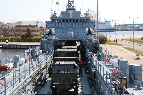 Morska Jednostka Rakietowa na pokładzie okrętu 8.FOW - GospodarkaMorska.pl