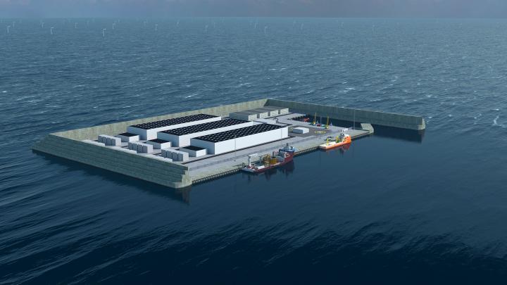 Belgia wybuduje wyspę energetyczną na Morzu Północnym w 2025 roku  - GospodarkaMorska.pl