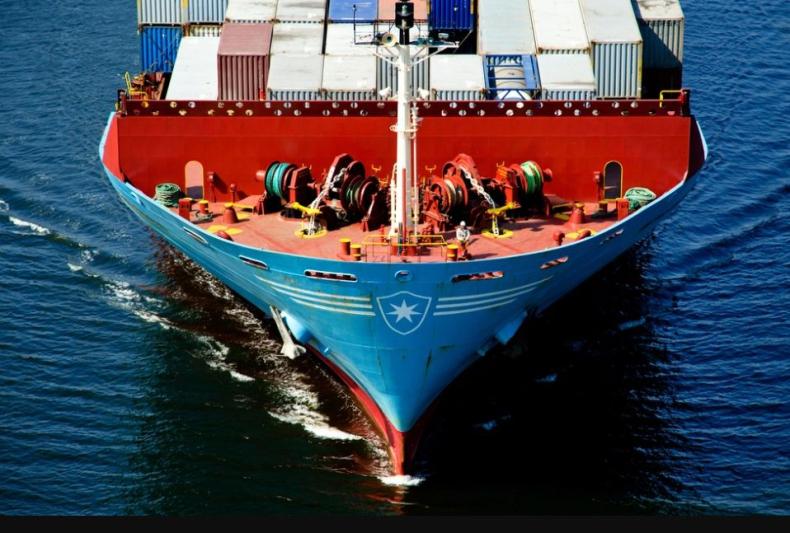 Maersk z rekordowymi zyskami dzięki wysokim stawkom frachtu - GospodarkaMorska.pl