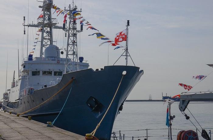 ORP Hydrograf. 45 lat pod biało-czerwoną banderą  - GospodarkaMorska.pl