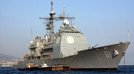Flota USA przejęła nielegalną dostawę broni na Morzu Arabskim - GospodarkaMorska.pl