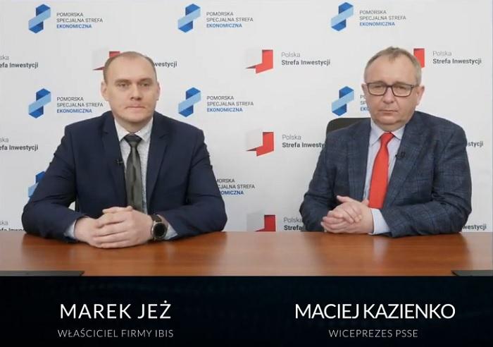 Setna decyzja o wsparciu w Pomorskiej Specjalnej Strefie Ekonomicznej [wideo] - GospodarkaMorska.pl