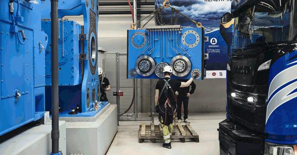 CorPower: największy na świecie tester energii fal jest prawie ukończony - GospodarkaMorska.pl