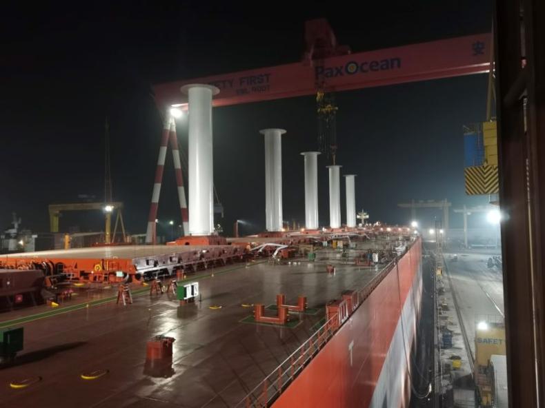 Masowiec VLOC Sea Zhoushan największym statkiem z Rotor Sails - GospodarkaMorska.pl