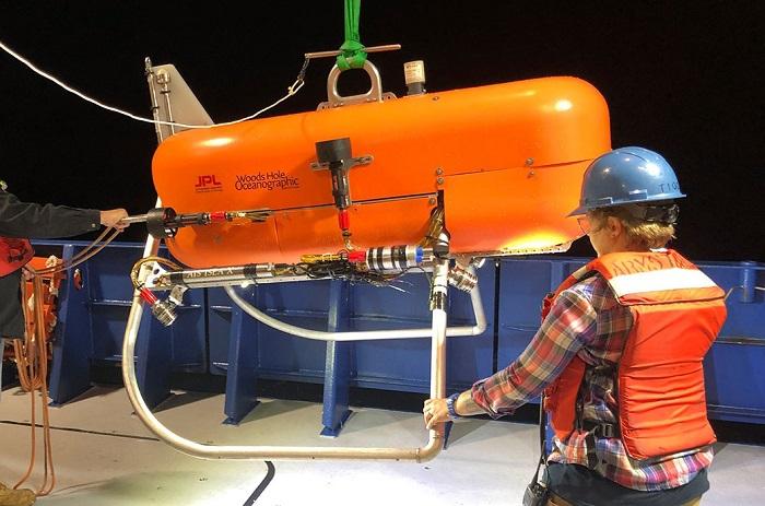 NASA - Robot Orpheus zmapuje dno oceanu  - GospodarkaMorska.pl