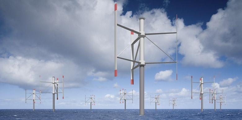 Pionowe morskie turbiny wiatrowe bardziej wydajne niż konwencjonalne? - GospodarkaMorska.pl