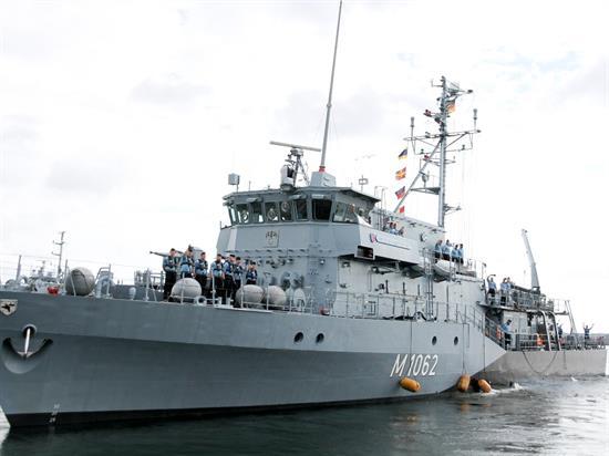 Okręty NATO zacumują w Szczecinie. Będzie można je oglądać przez cały weekend - GospodarkaMorska.pl
