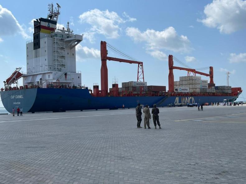 Pierwsze statki zawinęły do nowego kenijskiego portu głębokowodnego - GospodarkaMorska.pl