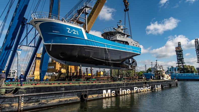 Kolejne wodowanie w stoczni Safe dla Damen Maskant [wideo, zdjęcia] - GospodarkaMorska.pl