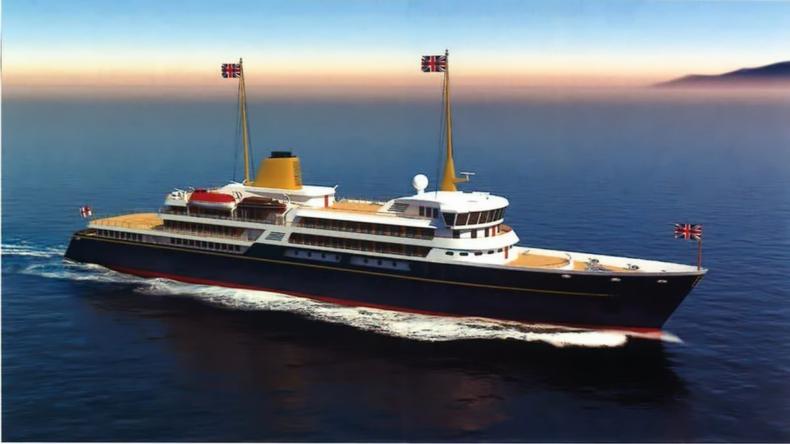 W. Brytania: Nowy okręt flagowy będzie promował brytyjskie interesy za granicą - GospodarkaMorska.pl