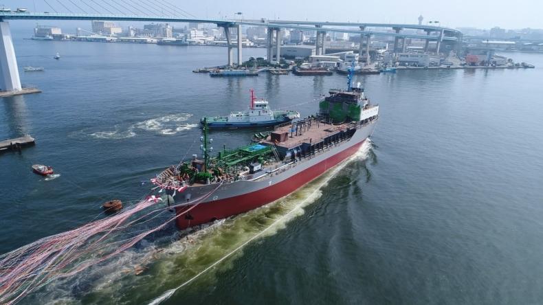 Rozpoczęto bunkrowanie LNG w japońskim porcie Jokohama - GospodarkaMorska.pl