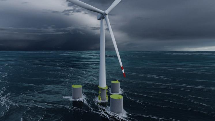 Iberdrola zainstaluje na wodach Hiszpanii pływające farmy wiatrowe o łącznej mocy 980 MW - GospodarkaMorska.pl