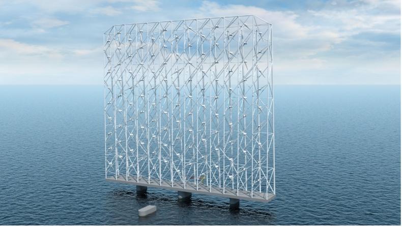 Norwedzy przedstawili nowy pomysł na offshore wind – wieloturbinowe platformy pływające - GospodarkaMorska.pl