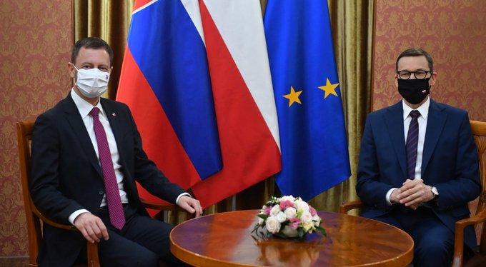 Morawiecki po spotkaniu z premierem Słowacji: nasz wspólny niepokój budzi Nord Stream 2 - GospodarkaMorska.pl
