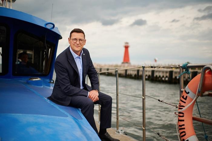 """Łukasz Greinke, prezes ZMPG: """"W każdym biznesie potrzebna jest zdrowa konkurencja""""  - GospodarkaMorska.pl"""