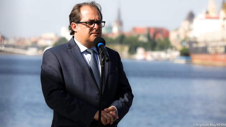 Gróbarczyk: program budowy promów musi być kontynuowany - GospodarkaMorska.pl