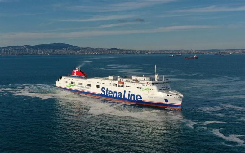 Wydłużony Ro-Pax Stena Scandica gotowy do służby na Bałtyku - GospodarkaMorska.pl