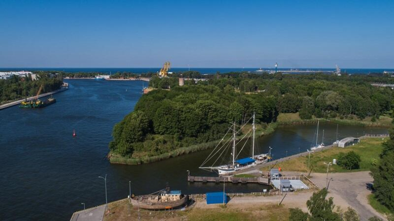 Nowy Port - Wisłoujście bez sezonowej przeprawy pieszo - rowerowej - GospodarkaMorska.pl