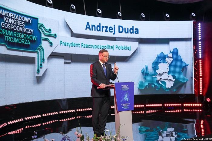 Prezydent: Inicjatywa Trójmorza ma olbrzymi potencjał - GospodarkaMorska.pl