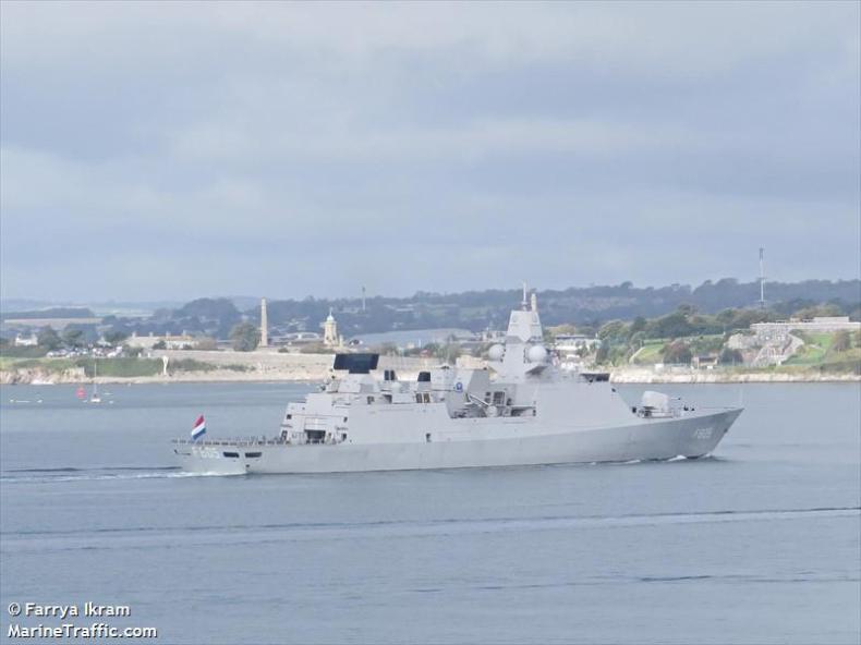 Rosja: Resort obrony potwierdza przelot samolotów blisko holenderskiej fregaty na Morzu Czarnym - GospodarkaMorska.pl