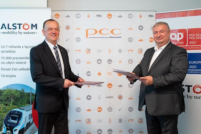 PCC Intermodal inwestuje w cztery lokomotywy elektryczne Traxx od Alstom - GospodarkaMorska.pl