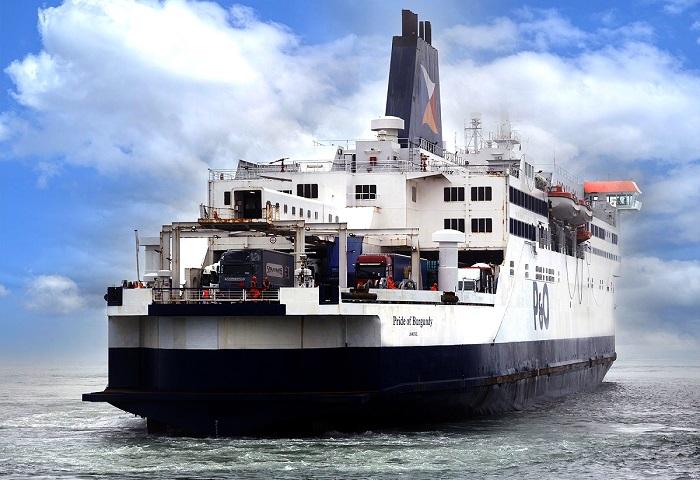 Piąty prom P&O Ferries na trasie Dover-Calais już pływa  - GospodarkaMorska.pl