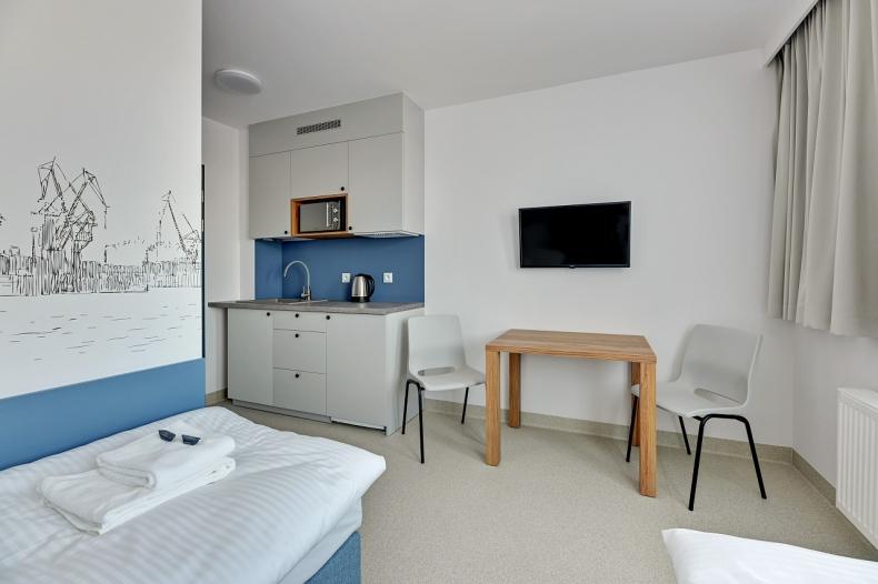 Aparthotel już gotowy. Tu odpocznie cała branża morska [ZDJĘCIA] - GospodarkaMorska.pl