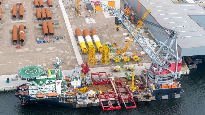 Vattenfall rozpoczął budowę morskiej farmy wiatrowej HollandseKustZuid - GospodarkaMorska.pl