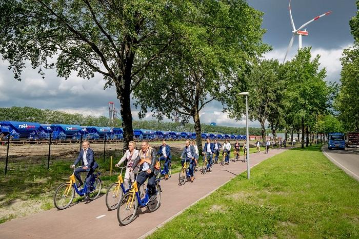 Nowa-stara farma wiatrowa Nieuwe Hemweg. Repowering na terenie portu w Amsterdamie - GospodarkaMorska.pl