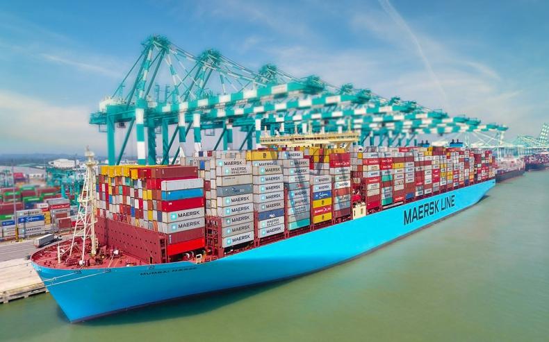 Stawki frachtowe na rynku kontenerowym wzrosły o 333 procent w 2021 roku - GospodarkaMorska.pl