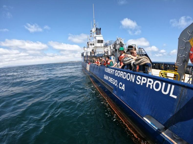 Scripps otrzymuje 35 milionów dolarów z Kalifornii na budowę statku badawczego zasilanego wodorem - GospodarkaMorska.pl