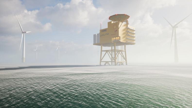 W Niemczech powstanie wielkoskalowa instalacja morska do produkcji zielonego wodoru - GospodarkaMorska.pl