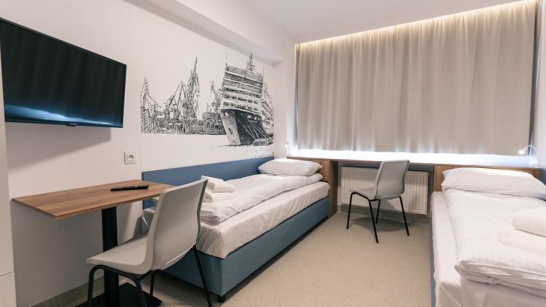 Aparthotel już gotowy. Zaprasza kolejne firmy do współpracy [WIDEO, ZDJĘCIA] - GospodarkaMorska.pl
