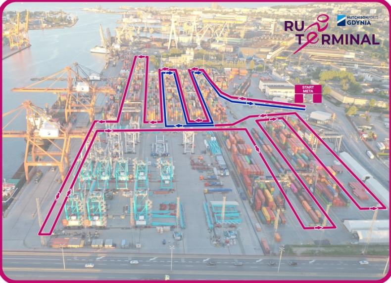 Bieg po terminalu kontenerowym w Gdyni. GCT zaprasza na pierwsze takie zawody! - GospodarkaMorska.pl