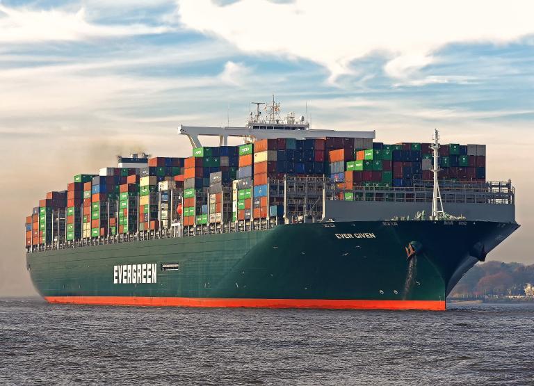 Ever Given, który blokował Kanał Sueski dopłynął w końcu do Rotterdamu [WIDEO] - GospodarkaMorska.pl