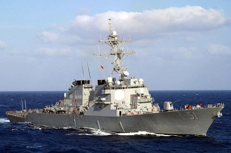 Przez Cieśninę Tajwańską przepłynął amerykański okręt - siódmy raz w czasie prezydentury Bidena - GospodarkaMorska.pl