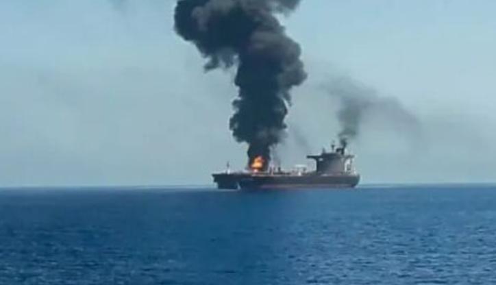 Iran zaprzecza, by brał udział w ataku na tankowiec na Morzu Arabskim - GospodarkaMorska.pl