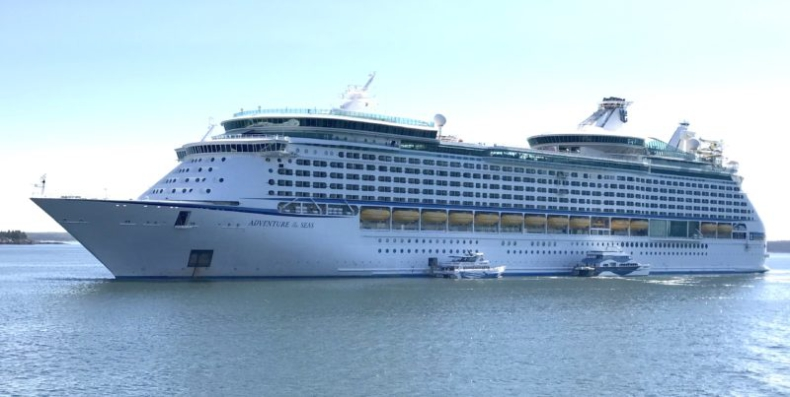 Sześciu pasażerów na statku wycieczkowym Royal Caribbean uzyskało pozytywny wynik na Covid-19 - GospodarkaMorska.pl