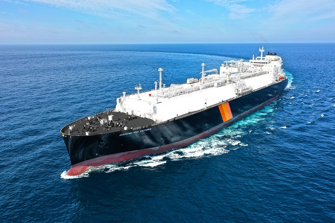 NYK Line odbiera dostawę zbiornikowca LNG [WIDEO] - GospodarkaMorska.pl