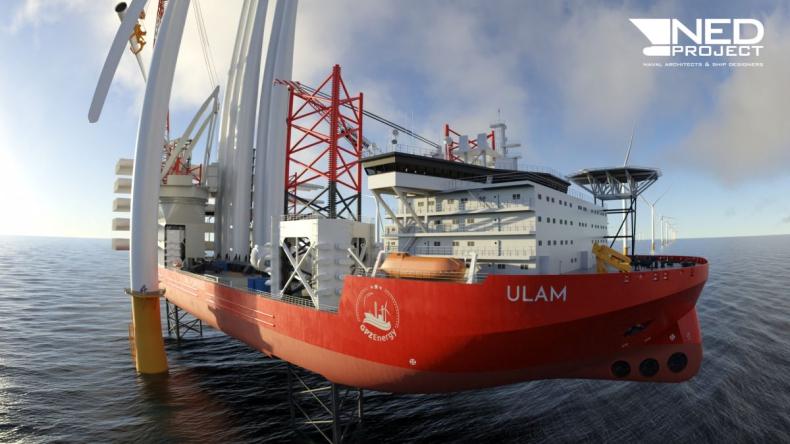 NED-Project robi kolejny duży krok dla projektu statku instalacyjnego ULAM [ZDJĘCIA] - GospodarkaMorska.pl