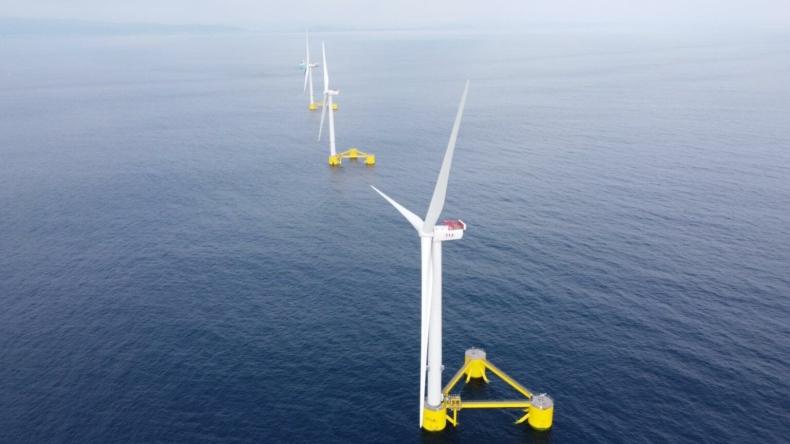 Ocean Winds i Aker Offshore Wind łączą siły w rozwoju pływających farm w Szkocji - GospodarkaMorska.pl