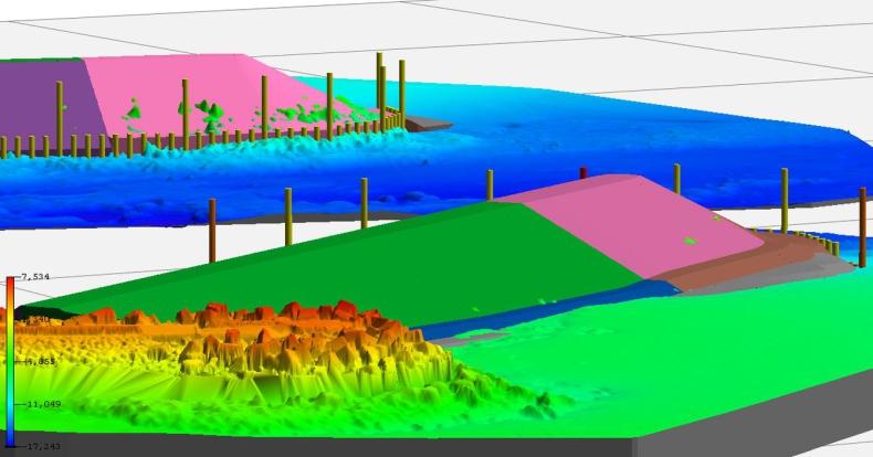 Wuprohyd stworzył model 3D przebudowy falochronów dla Portu w Kłajpedzie [ZDJĘCIA] - GospodarkaMorska.pl