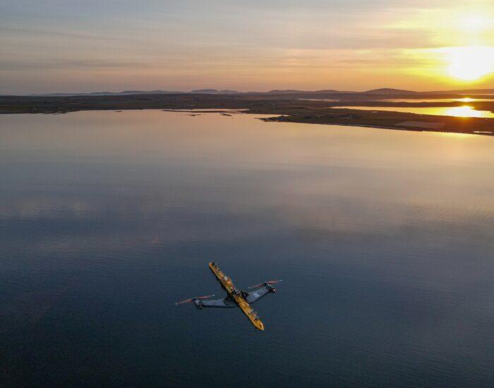 Innowacyjna turbina pływowa O2 zasili w energię 2 tys. gospodarstw domowych w Szkocji - GospodarkaMorska.pl