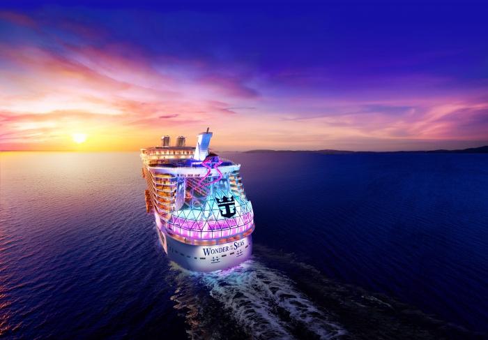 Największy statek pasażerski rozpoczął próby morskie [WIDEO] - GospodarkaMorska.pl