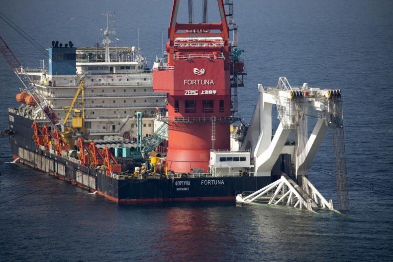 Statek Fortuna budujący Nord Stream opuścił wody Danii - GospodarkaMorska.pl