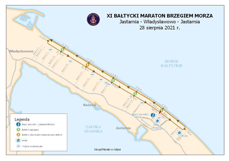 XI Bałtycki Maraton Brzegiem Morza w najbliższą sobotę - GospodarkaMorska.pl