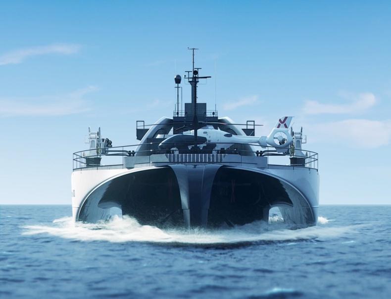 Power Transfer Vessel – statek przetransportuje energię z farmy morskiej na ląd  - GospodarkaMorska.pl