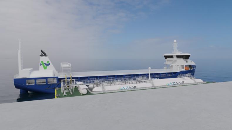 Pierwszy na świecie zielony terminal amoniaku zdobywa dużą dotację rządową - GospodarkaMorska.pl