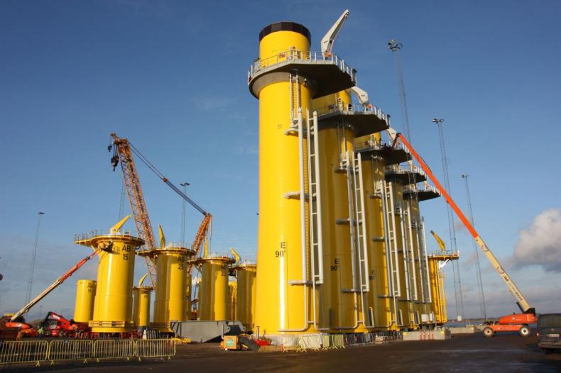Bladt Industries dostarczy monopale XXL dla farm budowanych przez Ørsted - GospodarkaMorska.pl